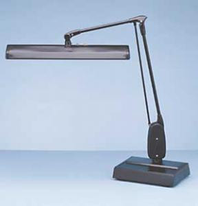 Dazor 27-inch two-bulb 15-watt T8 heavy-duty bench or desk lamp