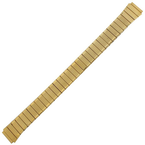 11 mm ladies, gold tone, stainless steel classic watch band