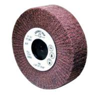 4 inch flap aluminum fine texture and polishing wheels