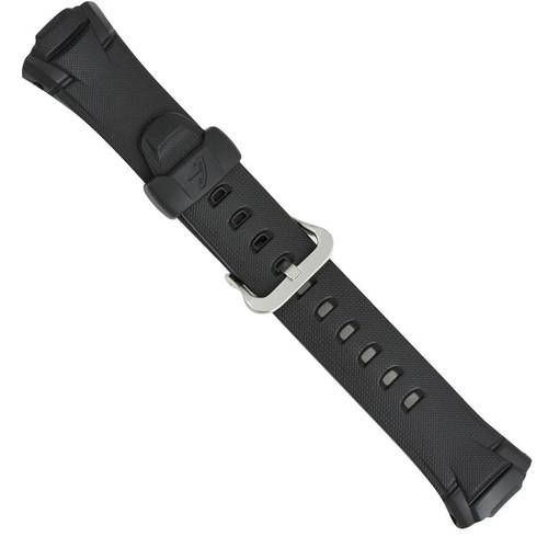 Black genuine Casio replacement band for GW500 models