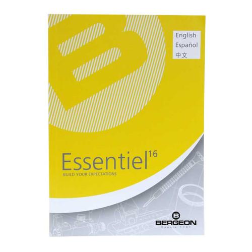 Bergeon Watch Tool Catalog Essentiel 16 (2016