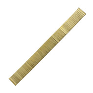 Expansion Metal Watch Band Yellow Tone 16MM