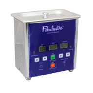 Fabulustre 1.5 pint ultrasonic jewelry cleaner with heat and timer