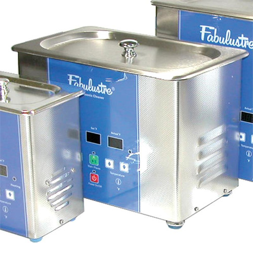 2 quart Fabulustre ultrasonic jewelry cleaner with heat and timer
