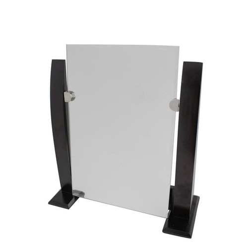 12 x 8 inch large frameless display mirror