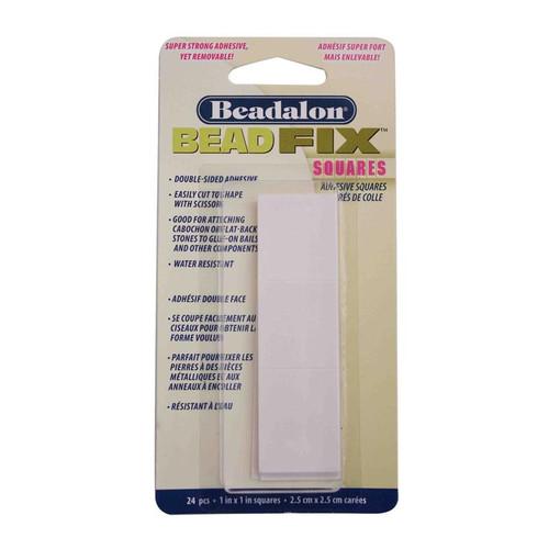 "1x1"" Beadalon BeadFix adhesive squares"