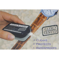 Clean and Care leather watch band cleaners