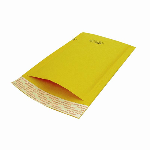 "Package of 10 self-seal bubble mailers, 10.5"" x 16"""