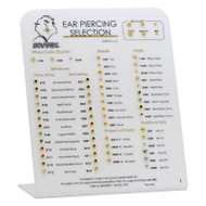 Studex Ear Piercing Easel Display