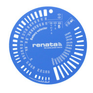 Watch Battery Size Selector by Renata Watch Battery Size Selector