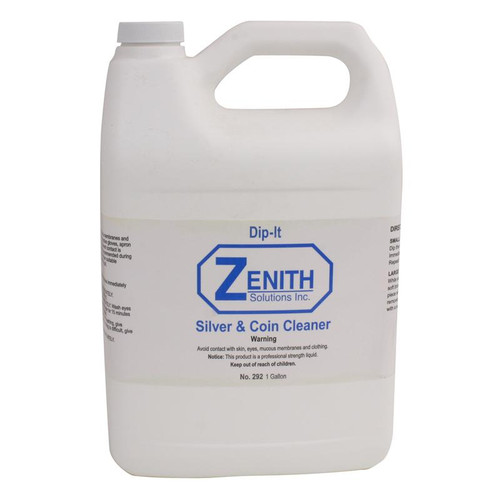 Zenith Dip It Silver and Coin Cleaner Tarnish Remover
