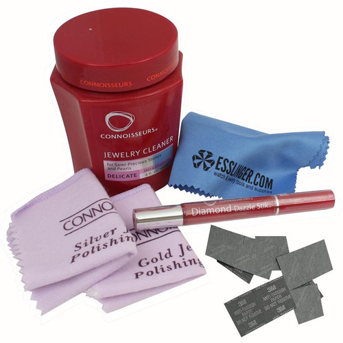 Connoisseurs personal cleaning kit for gold and silver jewelry for Jewelry cleaning kit target