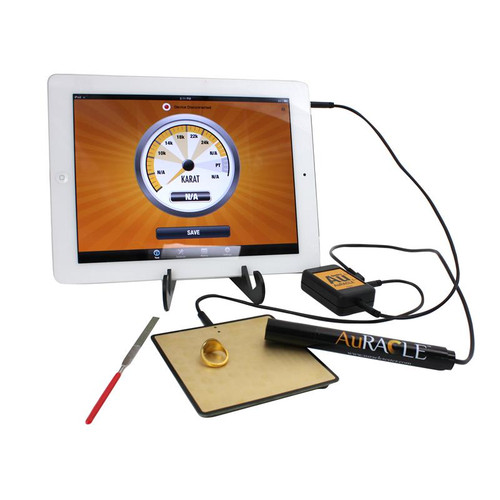 Auracle AGT-2 Gold Tester with iPad