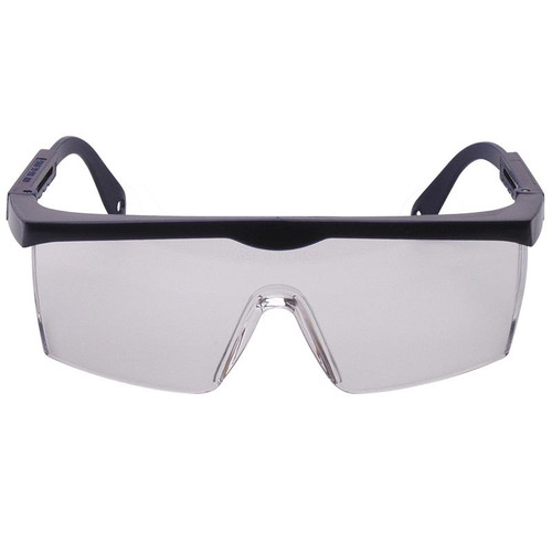 Professional Safety Glasses with Extendable Arms Wrap Around Lenses