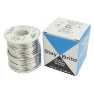 "Stay Brite Lead Free Solder 1 lb Spool  3/32"" (2.4mm) Silver Bearing"
