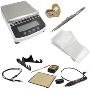 Professional Gold Buying and Testing Kit with AGT2 Electronic Gold Tester