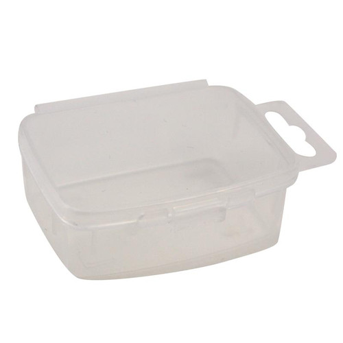 Organize Small Parts with this snap lid storage container.