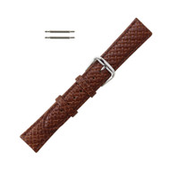 Hadley Roma Genuine Leather Tommy Bahama Watch Band Tan 18mm