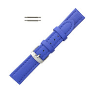 Hadley Roma Genuine Lorica Watch Band Hypo Allergenic 22mm Blue