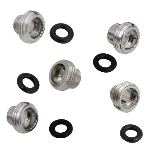 Generic case tubes and gaskets for Rolex watches