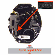 Hattori Japanese PC10 quartz watch movement for Seiko watches
