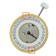 ISA 138/103 quartz movements have a date display at 3:00