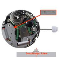 ISA Watch Movement ISA8171/204 Quartz Movements