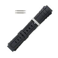 Hadley Roma PVC Diver Watch Strap 18mm