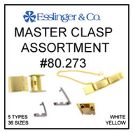 72 pieces 5 clasp types watch band master clasp assortment
