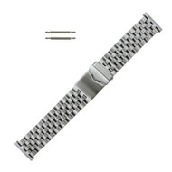 Stainless Steel Metal Watch Band 24 MM Jubilee Style Links
