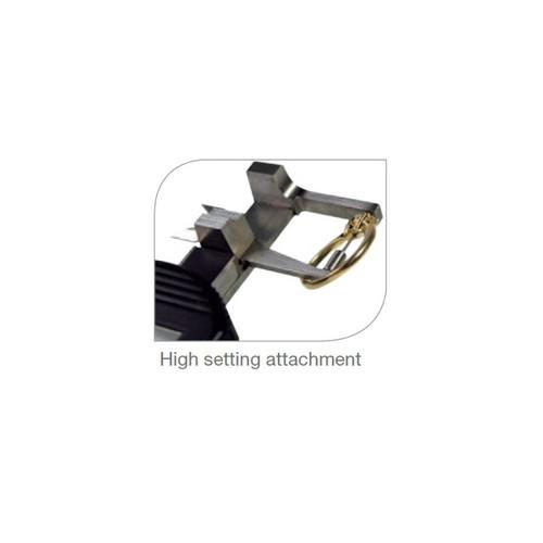 High setting attachment for gemstone caliper