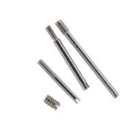 Bracelet replacement screws to adjust metal watch bands