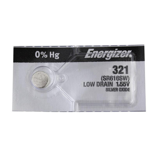 Energizer 321 batteries for replacing old watch cells