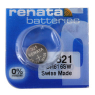 Renata 321 Watch Battery Replacement Cell