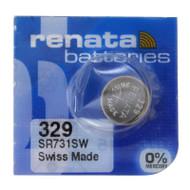 Watch Battery Renata 329 Replacement Cells Each