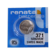 Watch Battery Renata 371 Replacement Cells Each