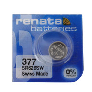 Watch Battery Renata 377 Replacement Cells Each