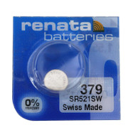 Watch Battery Renata 379 Replacement Cells Each