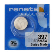Watch Battery Renata 397 Replacement Cells Each
