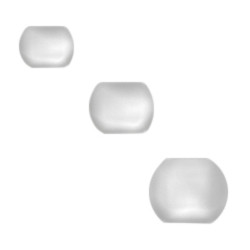 Glass date magnifiers for watch crystals