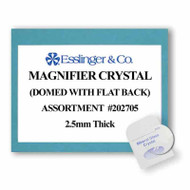 Watch Crystal Magnifier Mineral Glass Assortment Edge 2.5mm (12 Pieces)