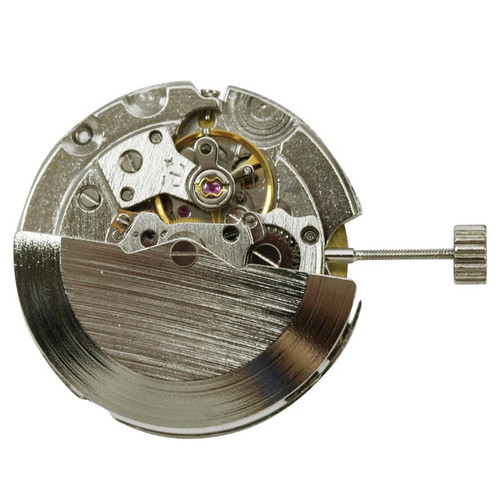 ST6D Gents mechanical watch movement with date display