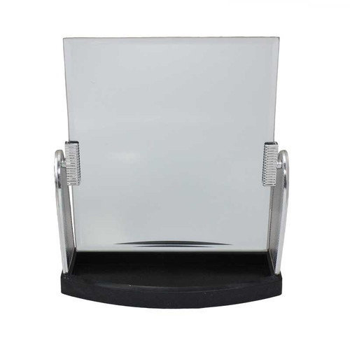 "9"" Inch Countertop Mirror with Tray for Display"