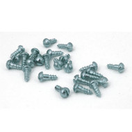 Wood Screws for Engraving Plates White Color (pkg of 25)