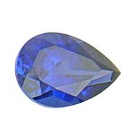 Pear Lab Created Sapphire