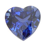 Heart Lab Created Sapphire