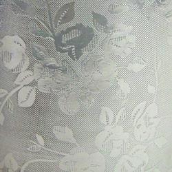 Foil Gift Wrap - Floral Silver