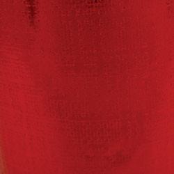 Foil Gift Wrap - Red Linen