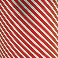 Foil Gift Wrap - Silver Red Stripe