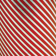 Foil Gift Wrap - Silver Red Stripe
